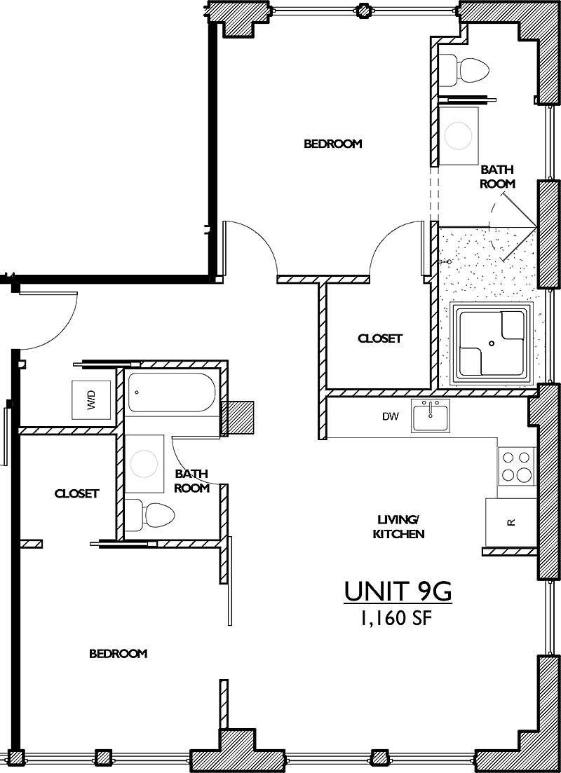 Residences 221 - Floor Plan 9G